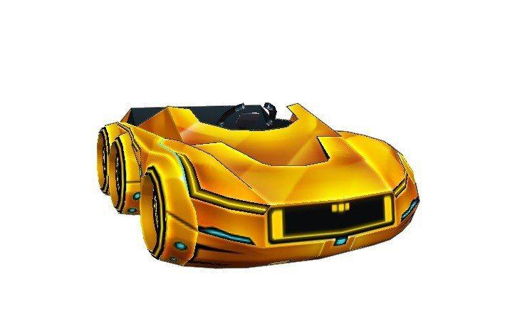 全新車款「黃金焰陽跑車9」炫麗搭載強悍的性能,超快速度與華麗過彎將攻略所有賽道。