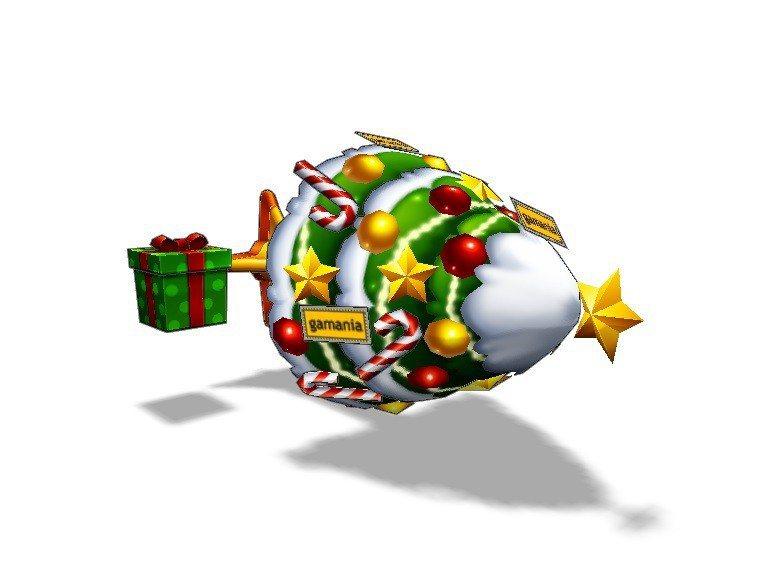《跑跑卡丁車》為了歡慶聖誕節,特別推出愛駒「聖誕節9」。