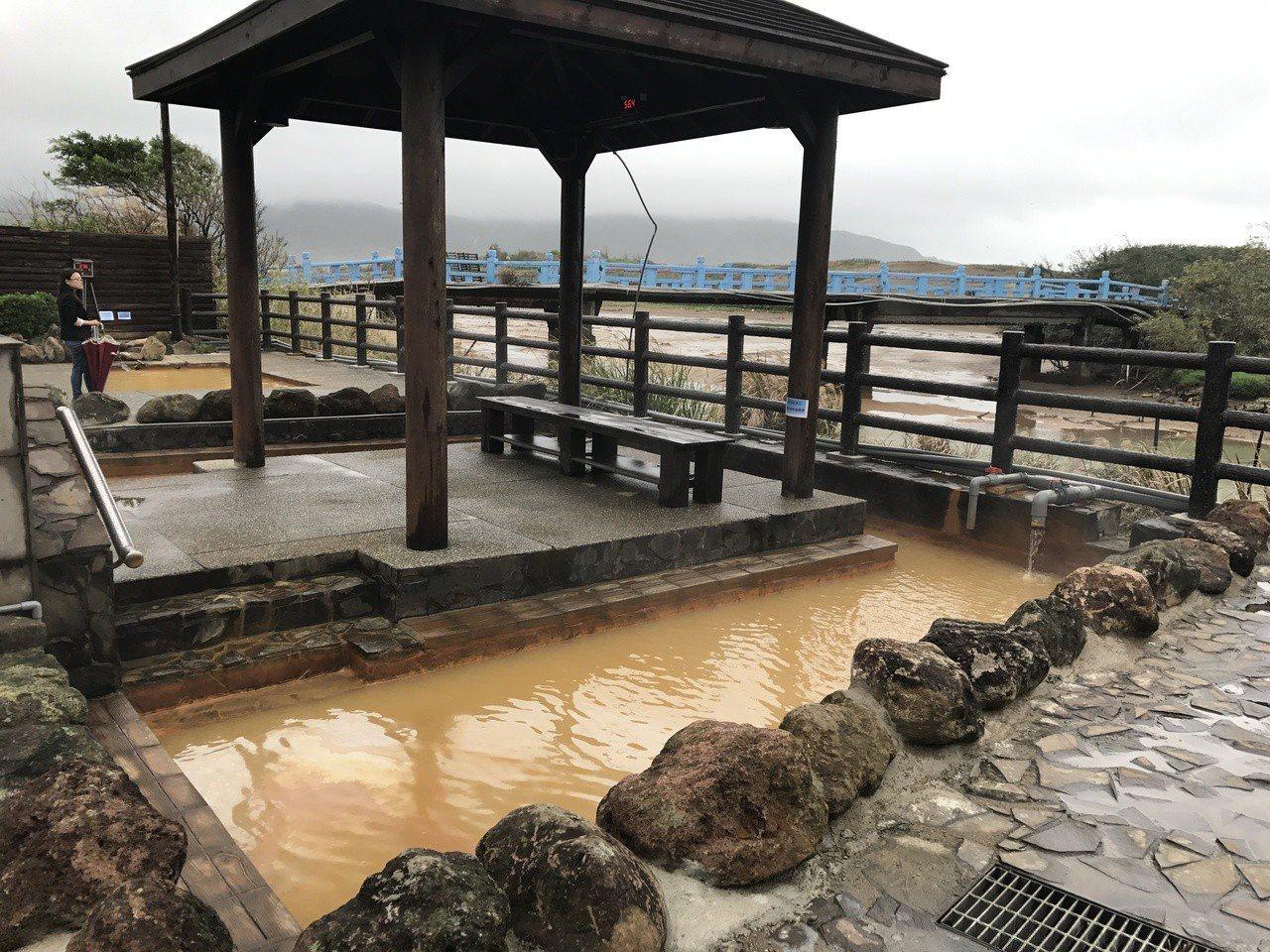 磺港公共浴池有珍貴的黃金湯。記者吳淑君/攝影