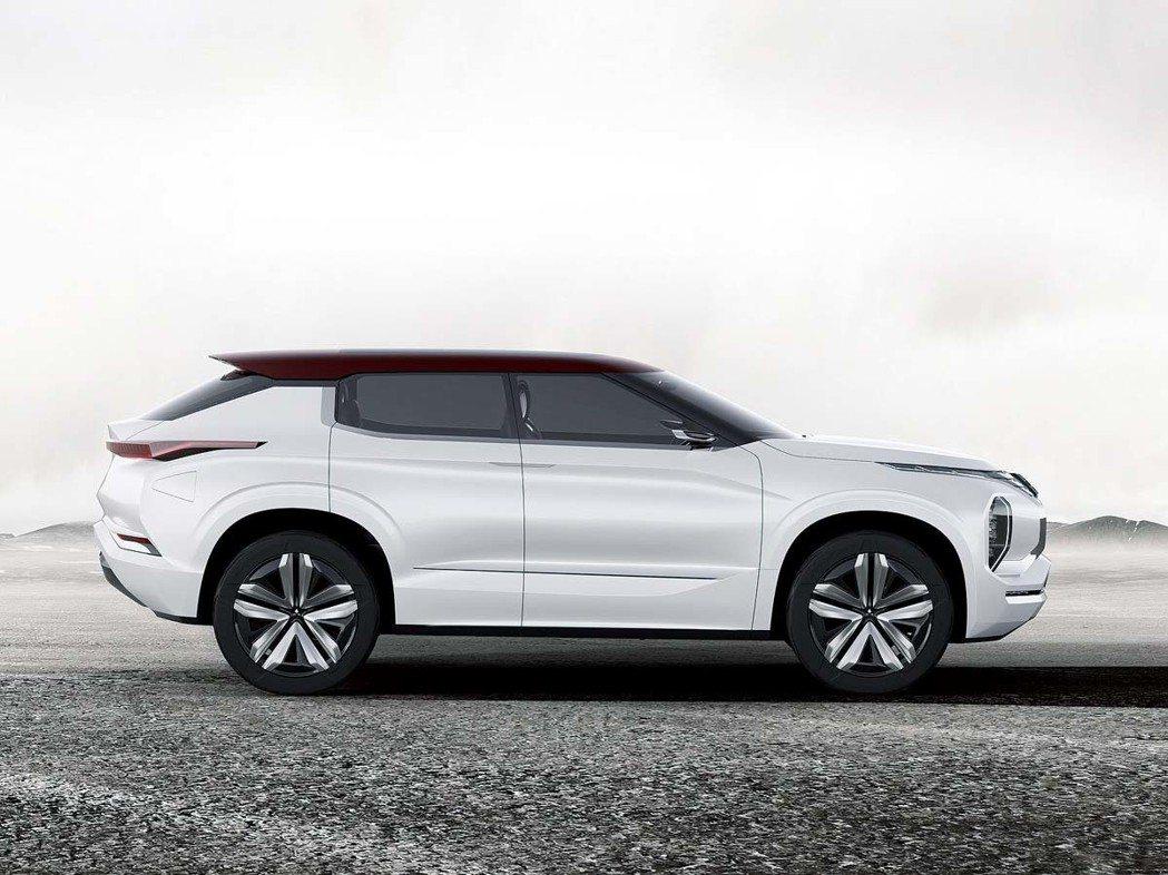 三菱汽車最新一代SUV概念車-GT PHEV。 圖/Mitsubishi提供