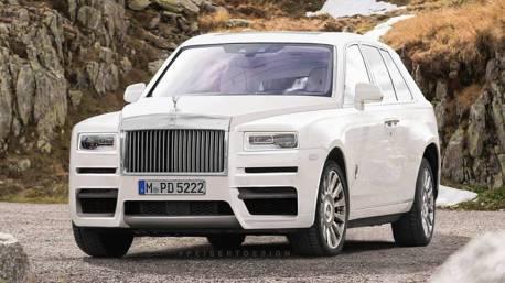 Rolls-Royce Cullinan休旅車 假想圖搶先看