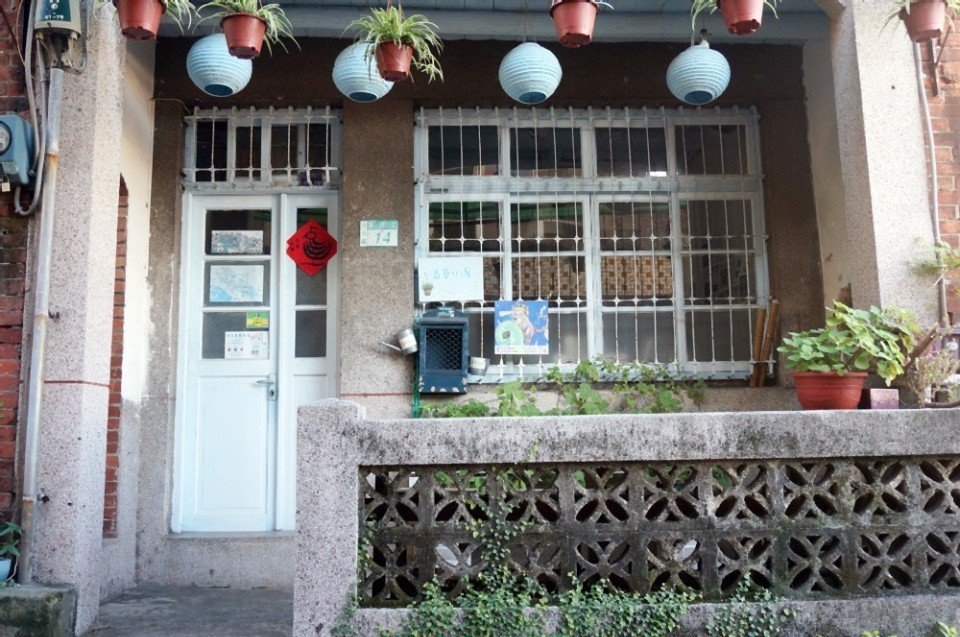 香草街屋是市定古蹟,但只有假日開放。(攝影/林郁姍)