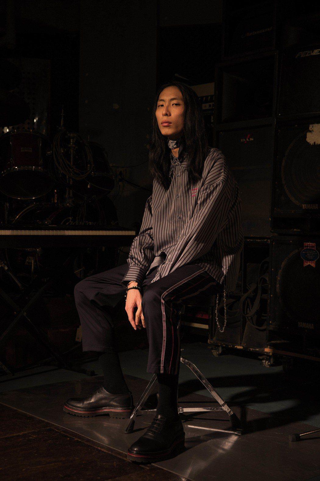 台灣自創男裝品牌Necessity Sense進駐連卡佛,以90年代金曲「光輝歲...