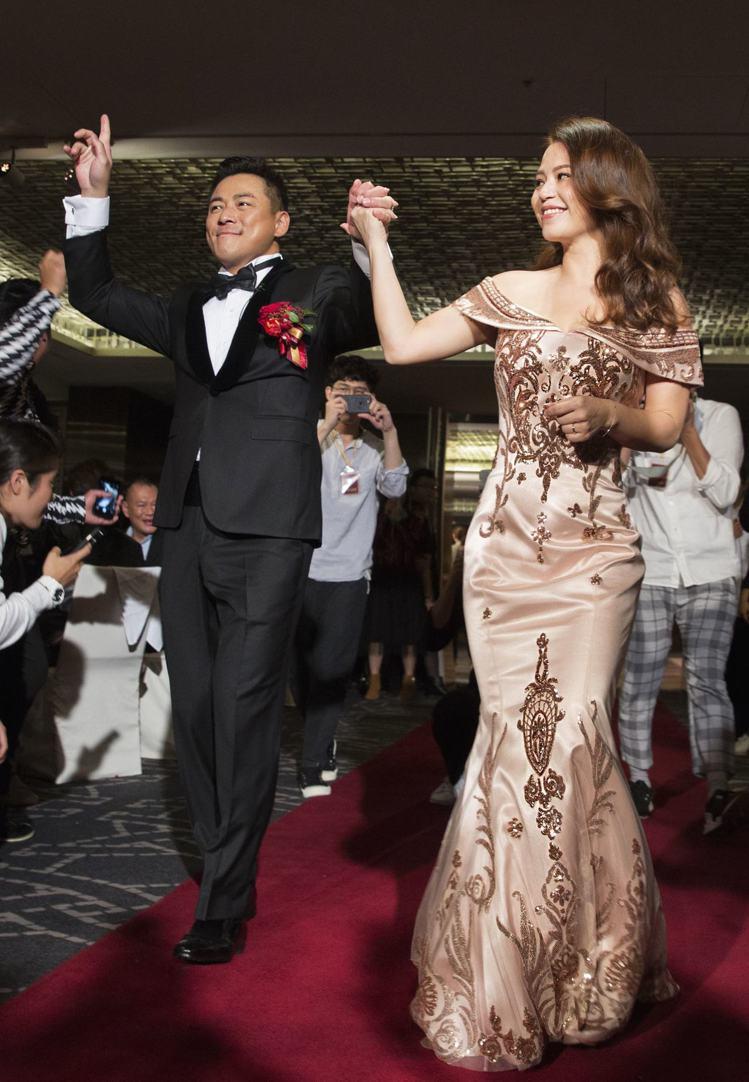 江宏恩與Vanessa上周末舉行婚禮。圖/蘇菲雅SophiaRitz提供