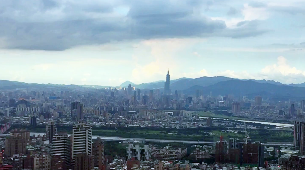 Mega 50也是欣賞台北101煙火的好去處。記者魏妤庭/攝影