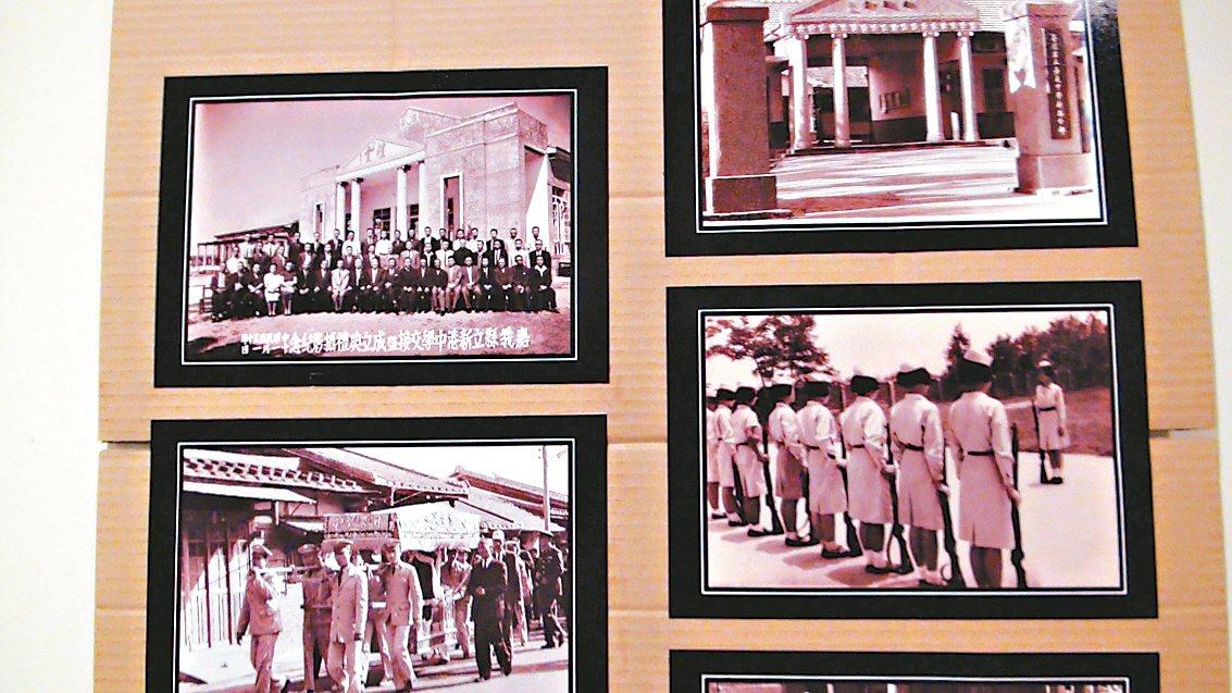 東洋照相館第一代老闆李東壁拍下八七水災和早年新港初中部的高中生,三代用鏡頭記錄新...