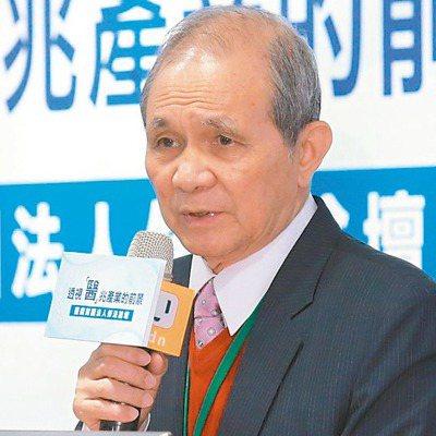 台灣研究基金會創辦人黃煌雄。 記者黃義書/攝影