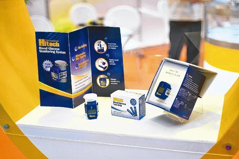 訊映研發推出的輕巧血糖儀,擁有即時開發產品的技術能力。 訊映光電/提供