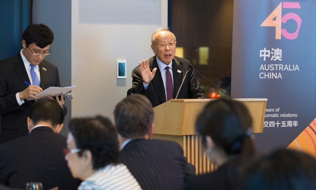 中國前外交部長李肇星。新華社資料照片