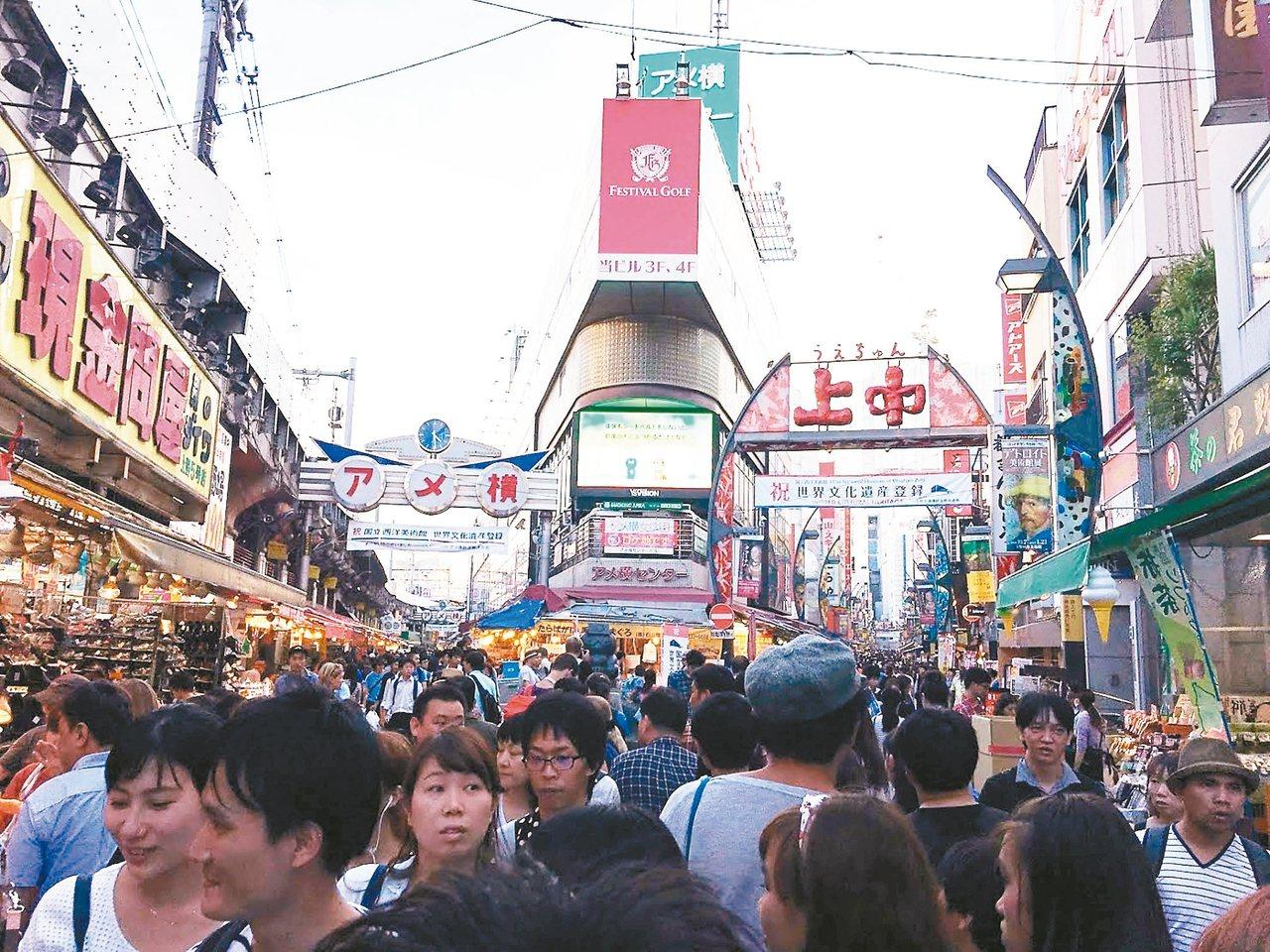 日本為了刺激觀光買氣,有意放寬免稅門檻。