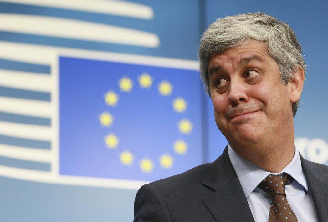 葡萄牙財政部長沈德諾(Mario Centeno)今天當選歐元集團主席。 歐新社