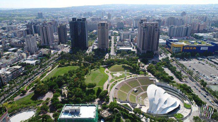 文心森林公園特區占地2.7萬坪,是都會中難得的大面積綠地。【圖/博識提供】