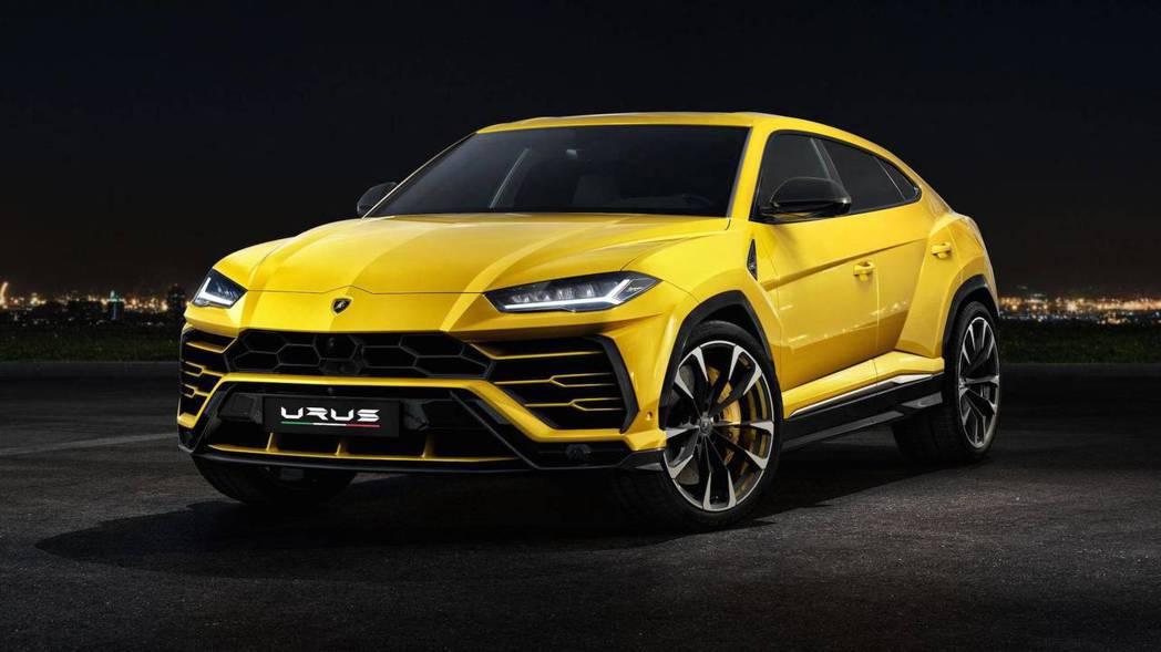Lamborghini Urus 超霸氣外觀。 摘自Lamborghini