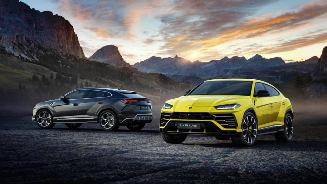 Lamborghini Urus 將在2018年初正式上市。 摘自Lamborghini