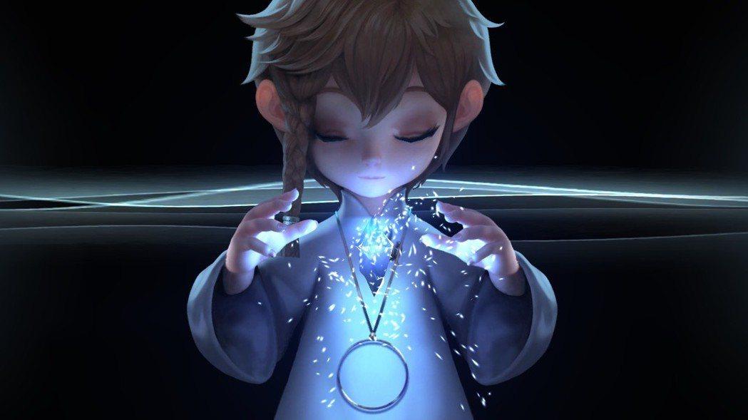 遊戲內的英雄召喚畫面。