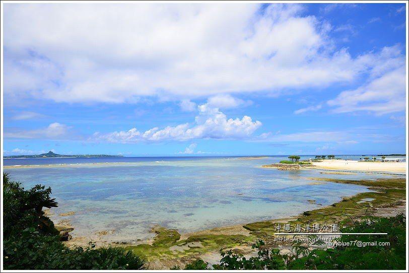 ↑翡翠海灘前的一片淺礁區,此處不可下水。