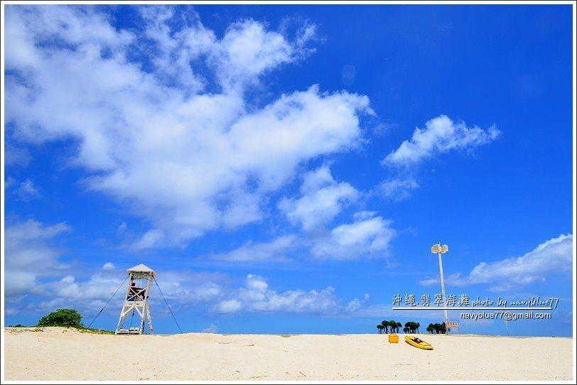 ↑翡翠海灘的三座海濱沙灘,都有救生人員待命。