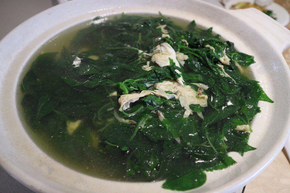 咸豐草湯。(攝影/周惠儀)