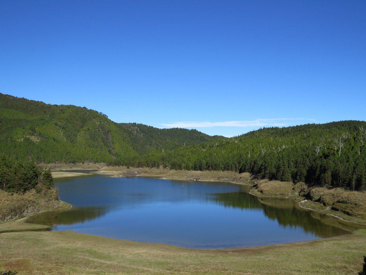太平山翠峰湖有著美麗的景觀。圖/原森旅行社提供