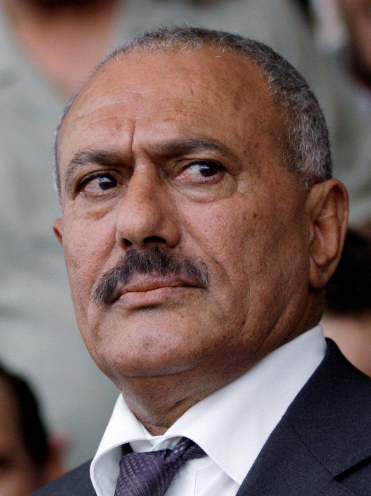 葉門前總統沙雷。路透