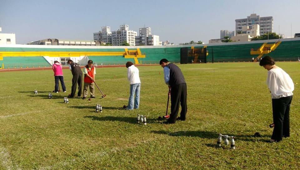 嘉義市體育運動總會在上月18、19日在嘉義市體育場舉辦「106年諸羅山盃木球錦標...