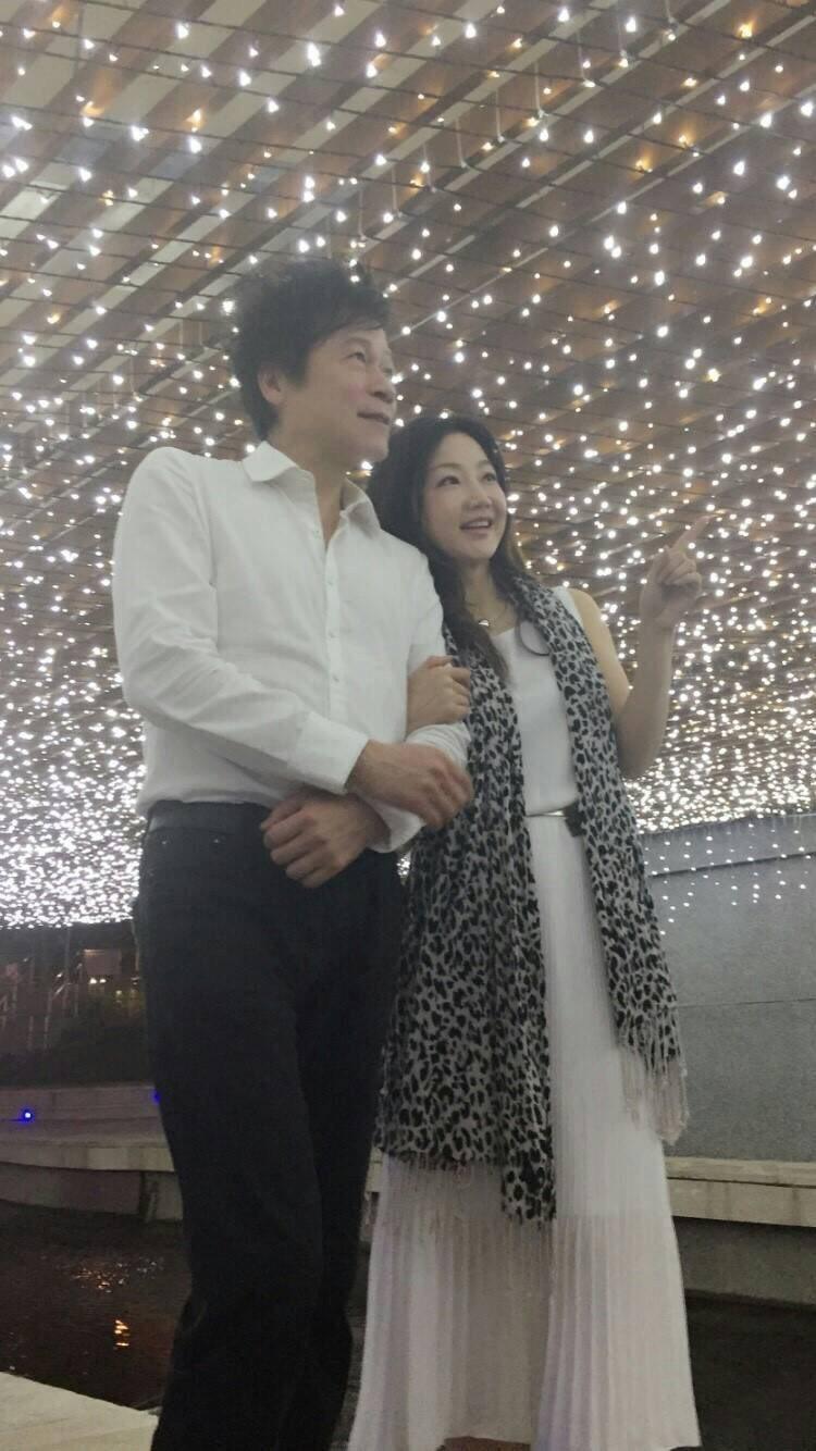 洪榮宏和張瀞云8月已登記結婚。圖/洪榮宏提供