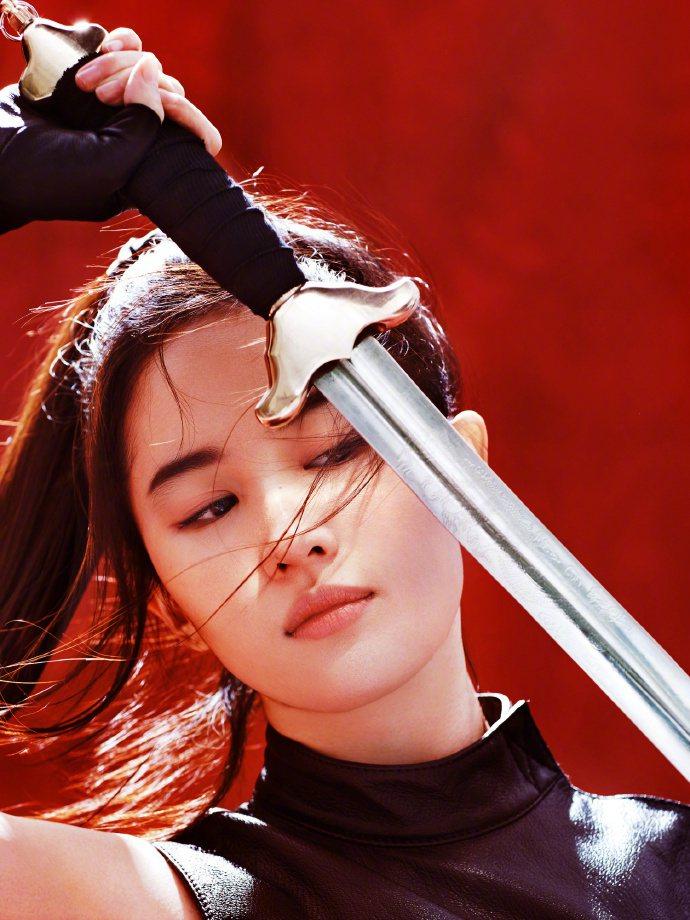 知情人士爆料,劉亦菲在「花木蘭」試鏡現場表現十分傑出。圖/摘自微博
