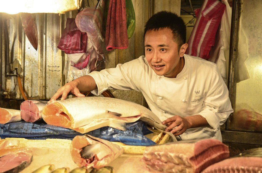 W紫艷主廚鄔海明主持餐廳首度進入全球1000家餐廳排行。圖/台北W飯店提供