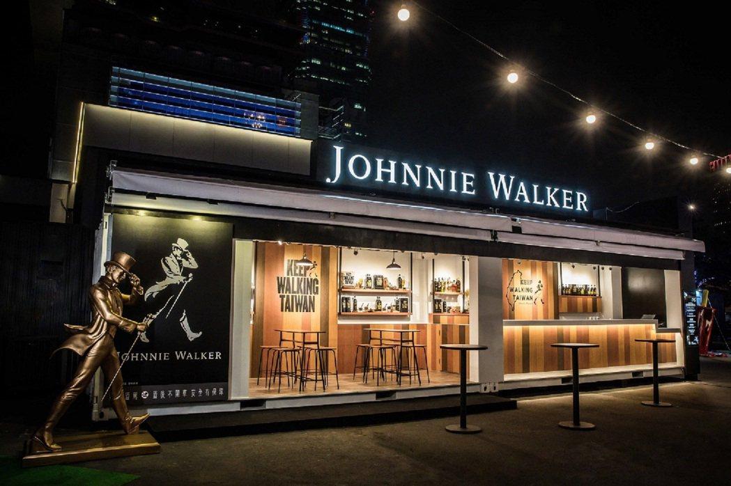 威士忌領導品牌JOHNNIE WALKER即日起至2018年1月31日,在信義區...