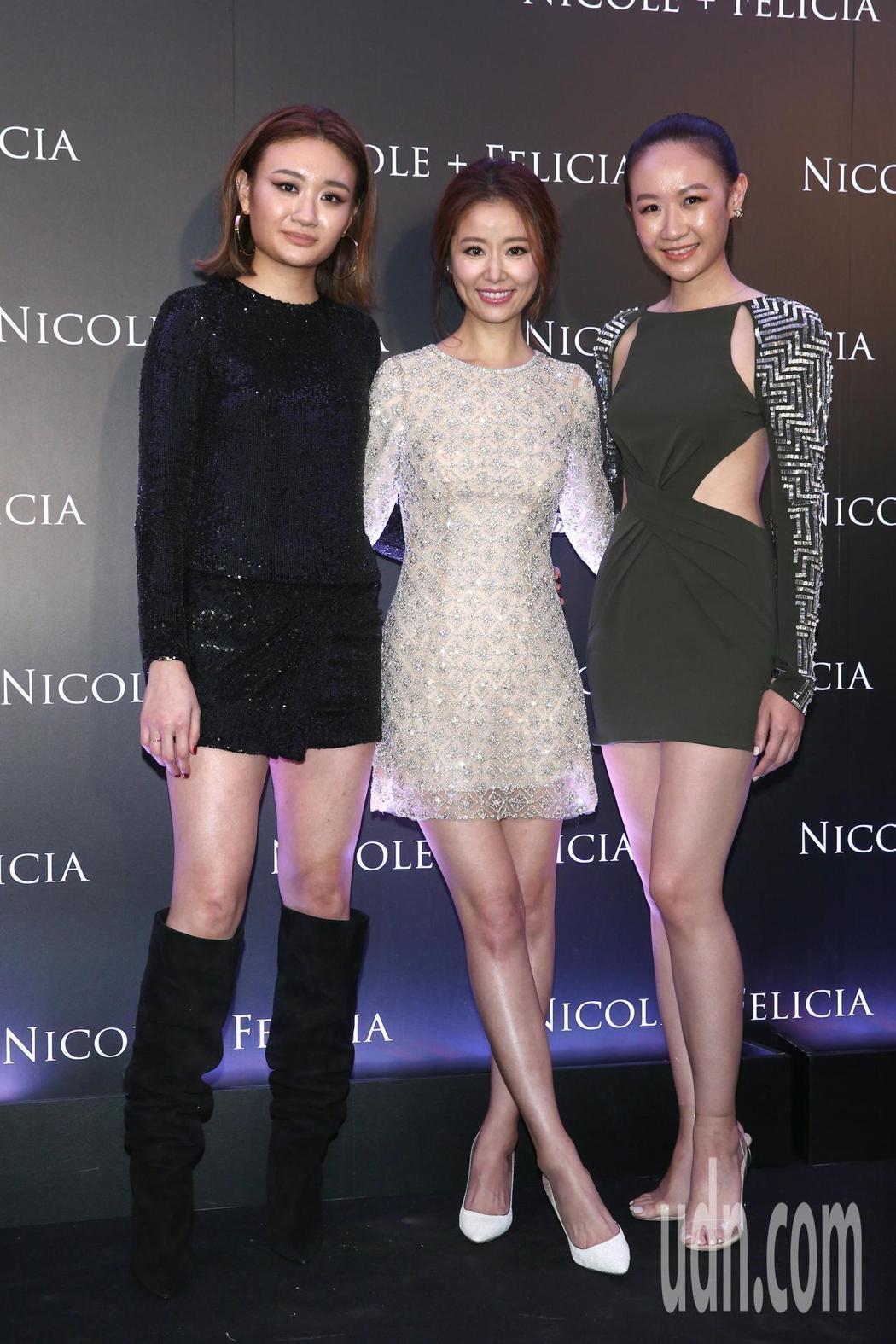 林心如與Nicole+Felicia設計師姊妹張方綺Nicole與張方瑜Feli...