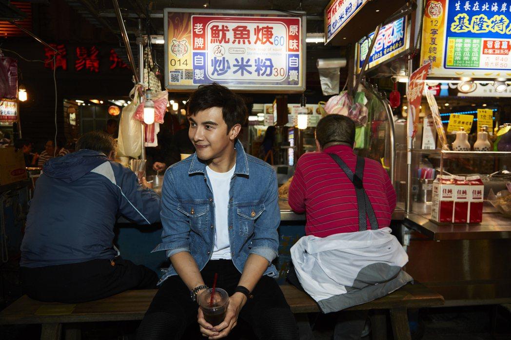 台灣的夜市文化,也是謝佳見最愛。圖/凱特文化提供