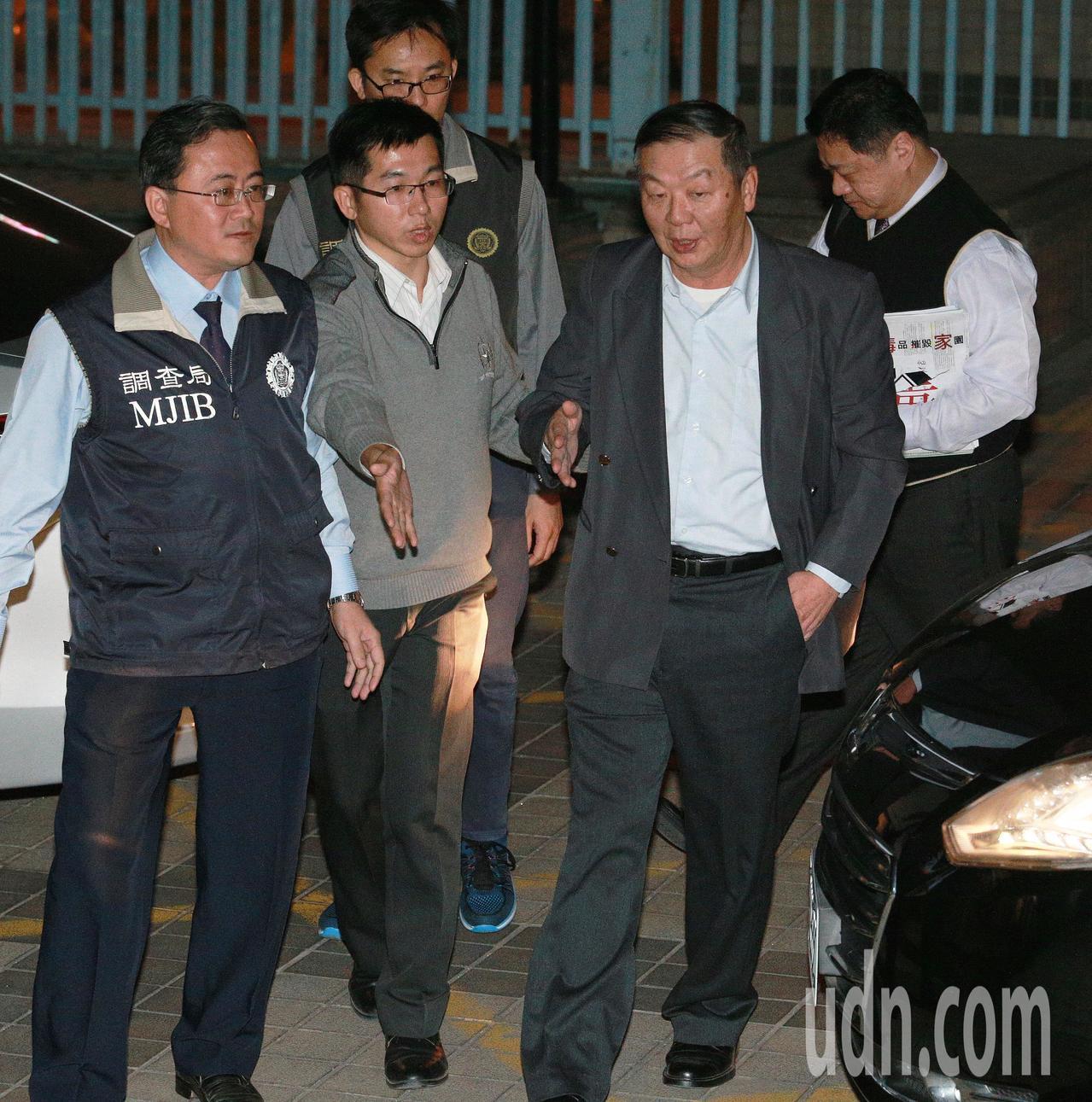 海軍司令黃曙光(右二)。記者劉學聖/攝影