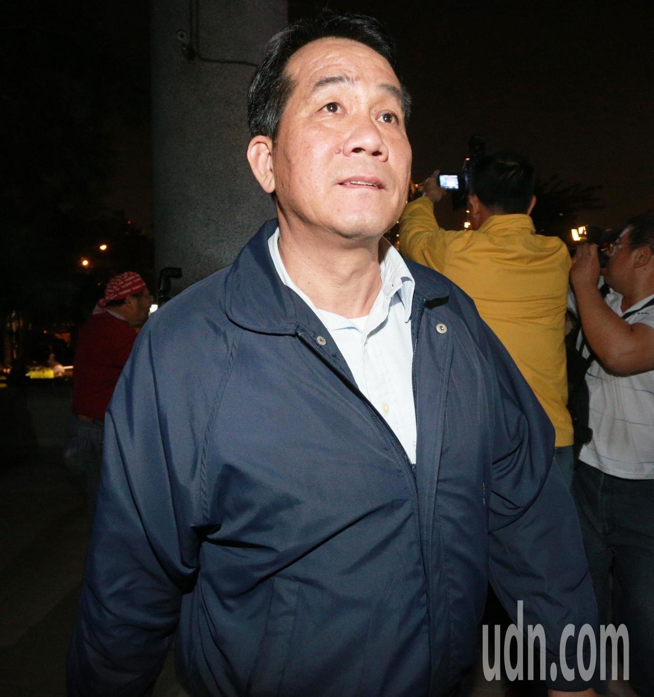 海軍前副參謀長少將胡展豪。記者劉學聖/攝影