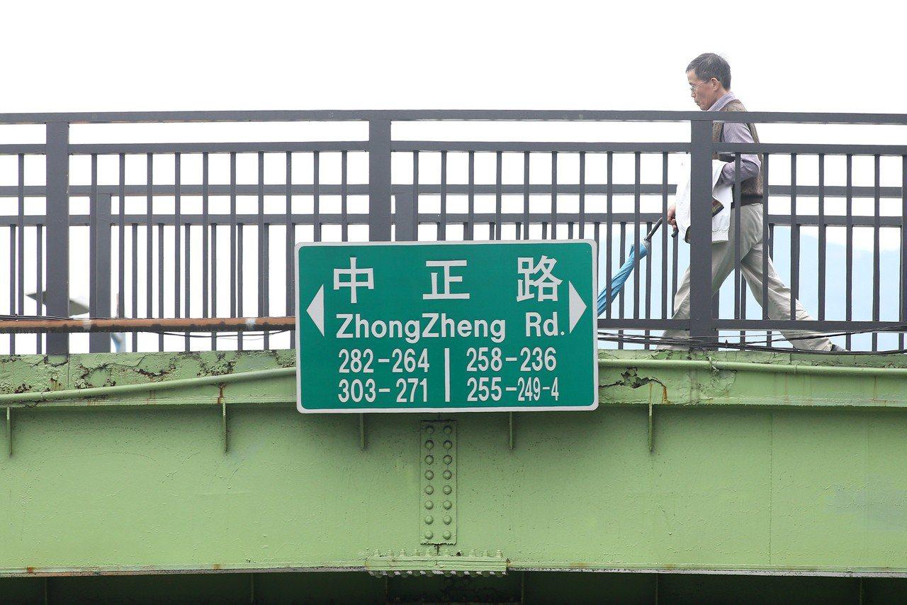 台北市中正路。記者蘇健忠/攝影