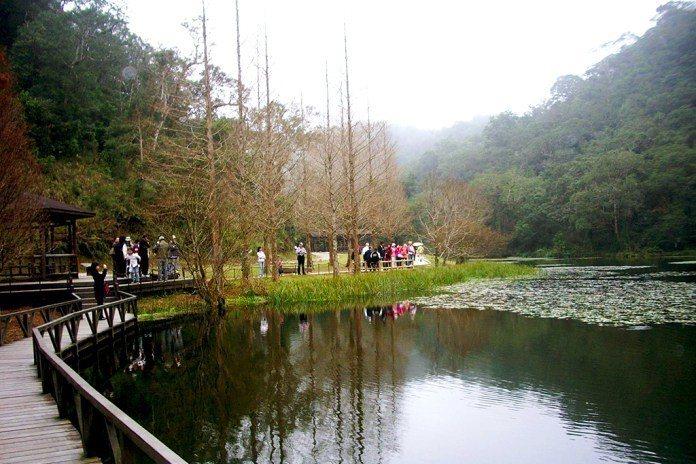 宜蘭福山植物園。(圖/Tripbaa趣吧!達人帶路