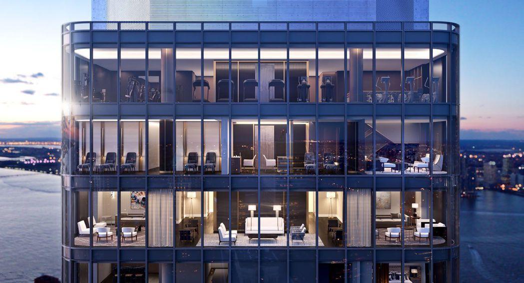 曼哈頓天際(125 Greenwhich Street)是世界級建築大師Rafa...