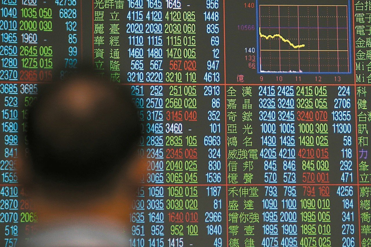 外資合計10天賣超台股680億元。 聯合報系資料照/記者黃仲裕攝影