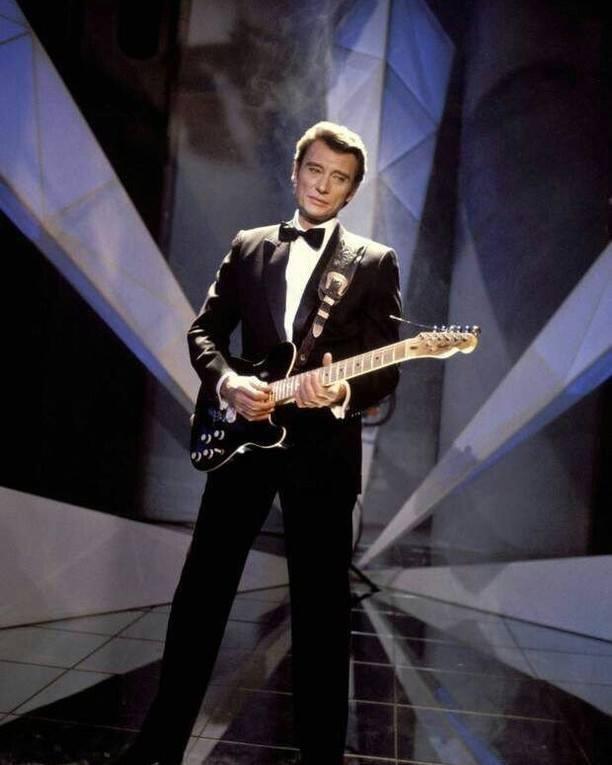 老牌搖滾巨星「法國貓王」強尼哈勒戴(Johnny Hallyday)病逝。圖/擷