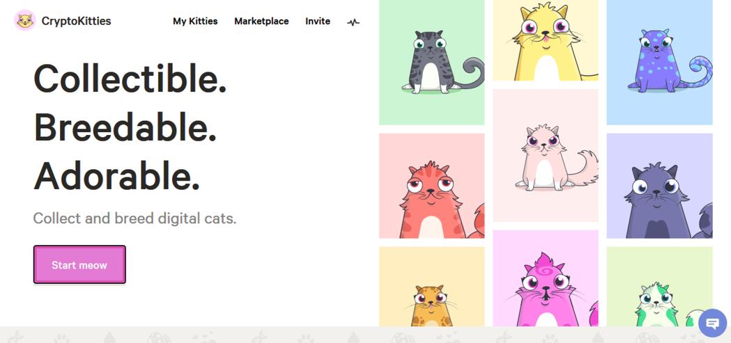 近來在加密貨幣世界裡最紅的可以說就是這款貓咪遊戲《CryptoKitties》。