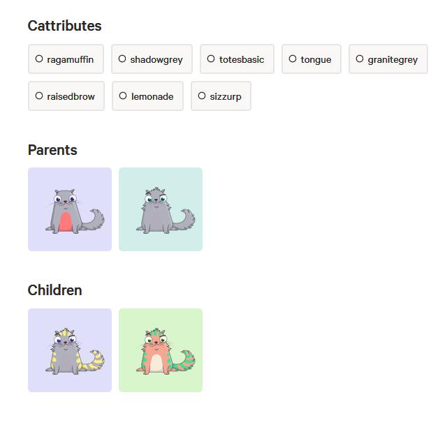 貓咪無法與直系親屬交配,一定要找其他貓咪才能配種。