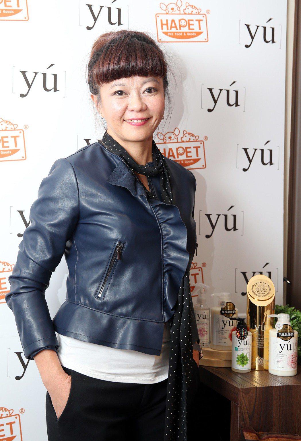 因為對動物發自內心的熱愛,達飛營運執行長趙裕華一手打造出精品級的YU東方森草寵物...