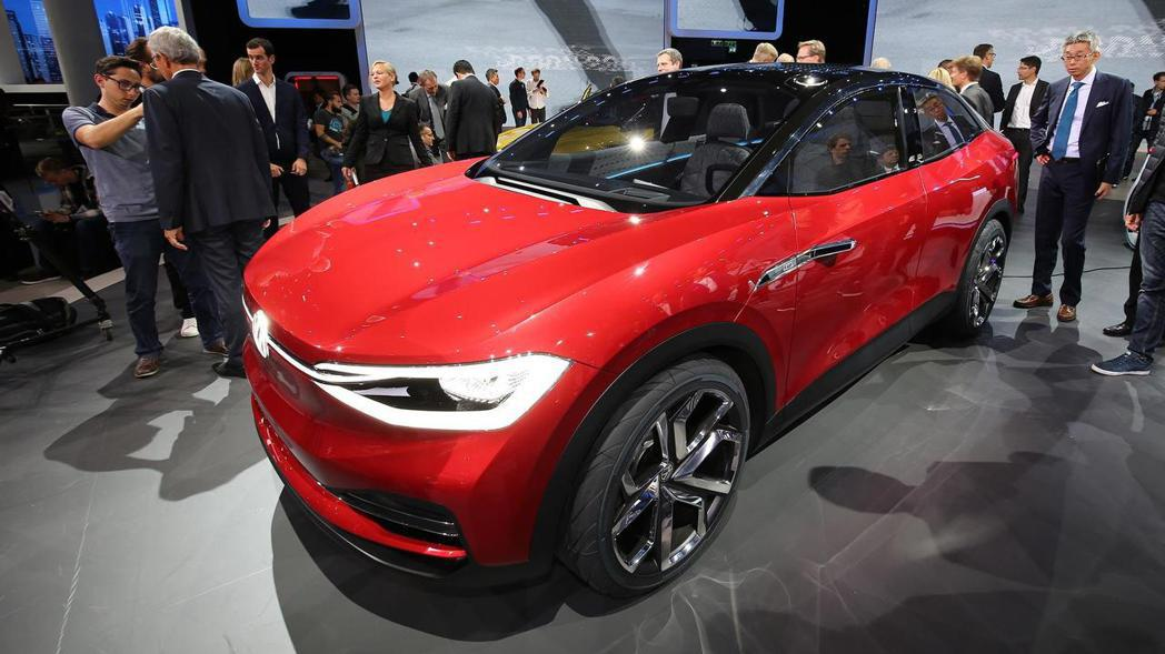 Volkswagen I.D. Crozz。 摘自Volkswagen