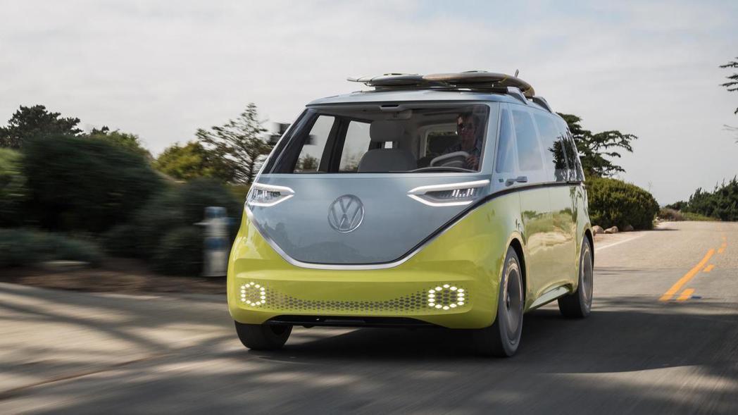 Volkswagen I.D Buzz。 摘自Volkswagen