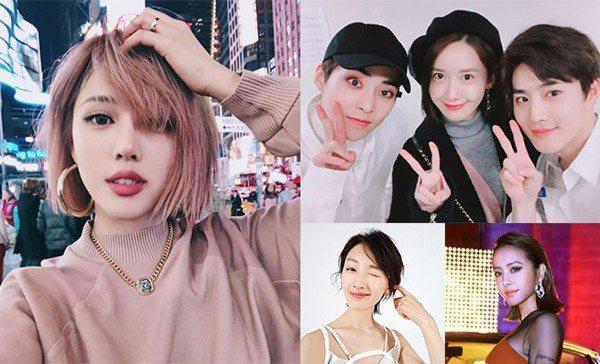 圖/Jolin粉絲團、PONY IG、潤娥IG、周冬雨微博,Beauty美人圈提...