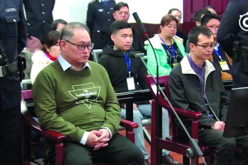 北京涉台事務私下指出,李明哲(左)因與中國境內搞串聯才被起訴判刑。 翻攝自岳陽市...