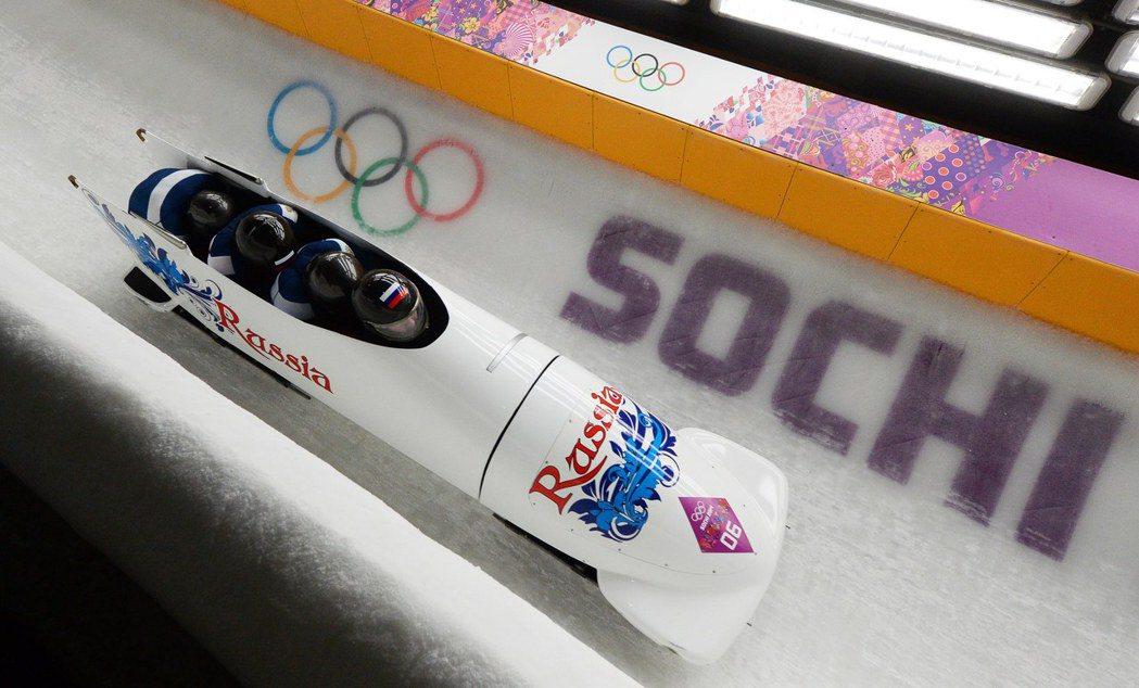 上屆冬奧在索契比賽畫面。歐新社