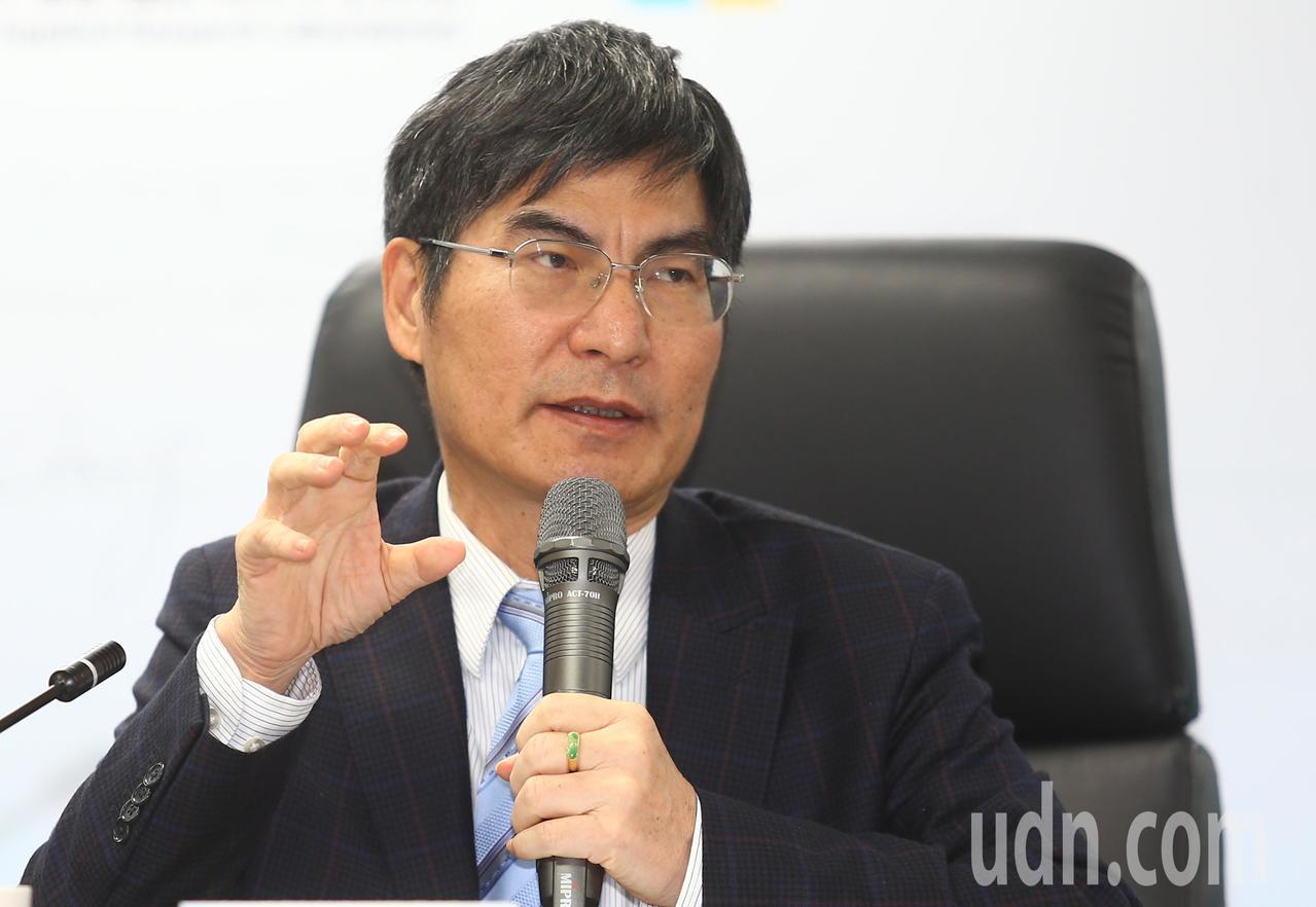 科技部長陳良基。記者曾學仁/攝影
