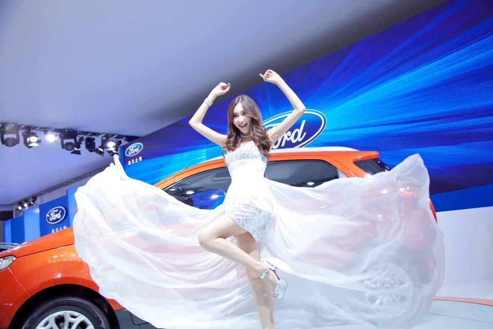 福特汽車在中國車展。(取自網路)