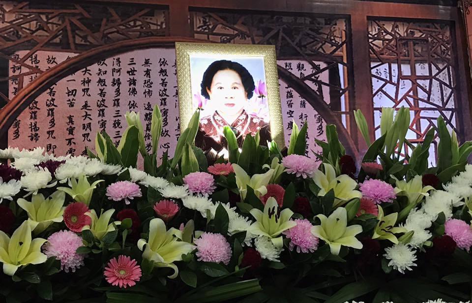 澎恰恰回嘉義低調辦完母親後事,母親今年93歲了。圖/擷自澎恰恰臉書