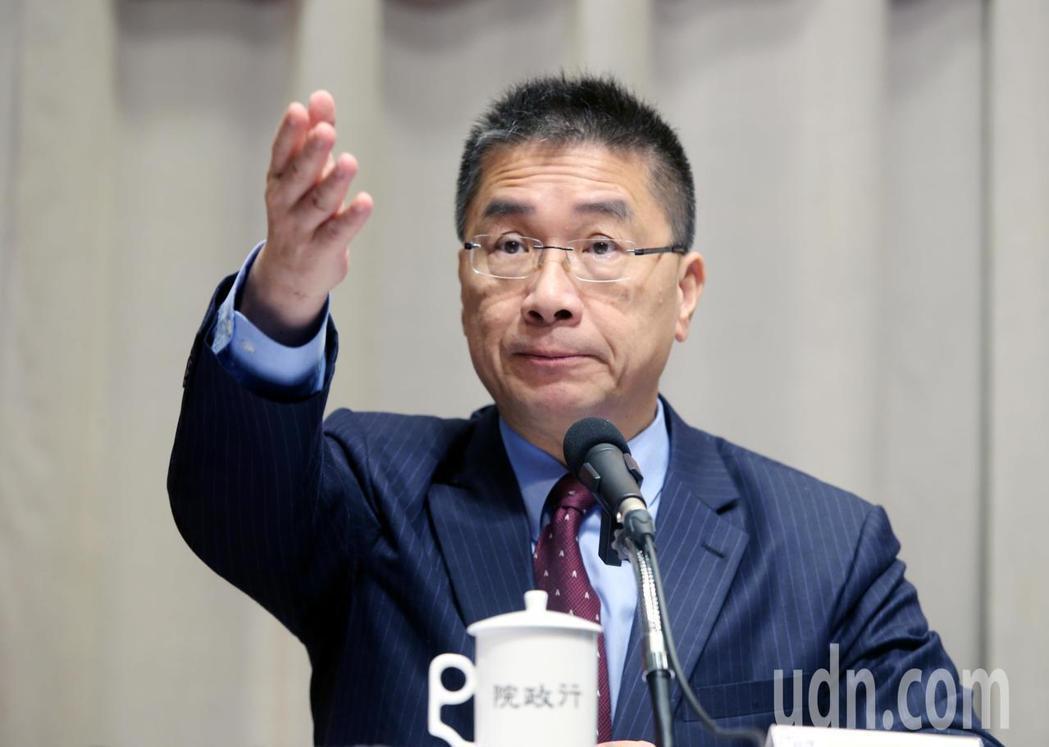 行政院發言人徐國勇。聯合報資料照/記者邱德祥攝影